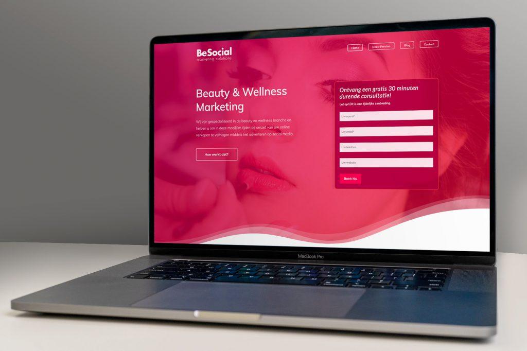 BeSocial Website
