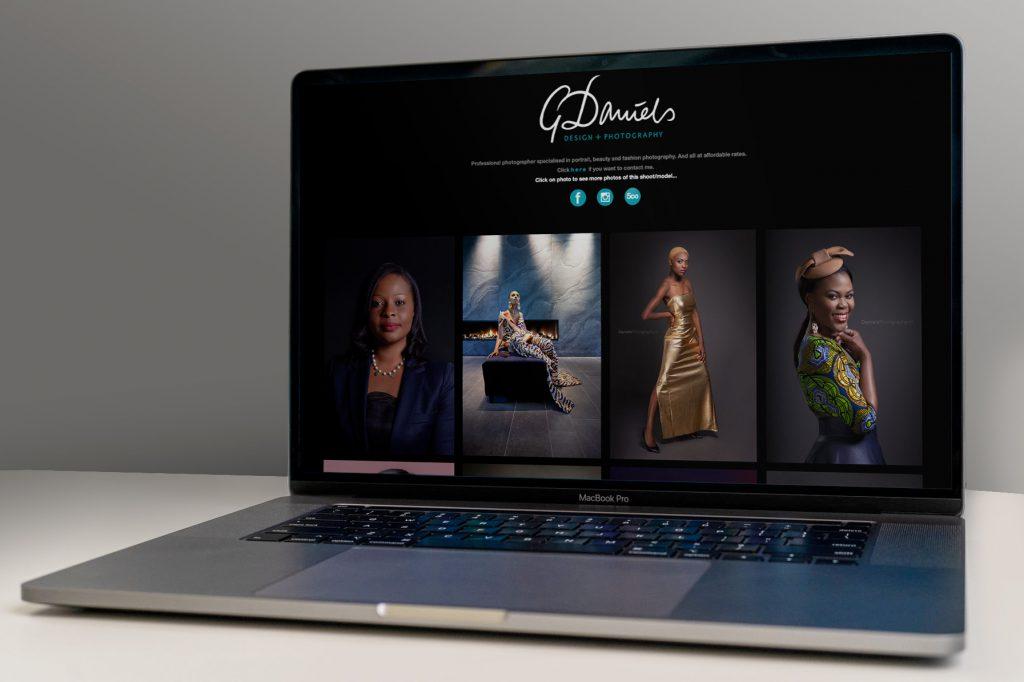 Daniels Photography website